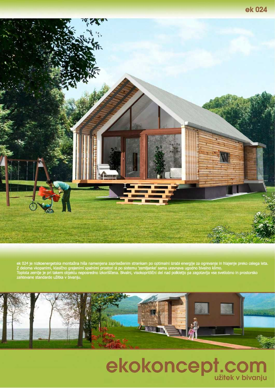 Catalogue of prefabricated houses ekokoncept | Chalet | Pinterest ...