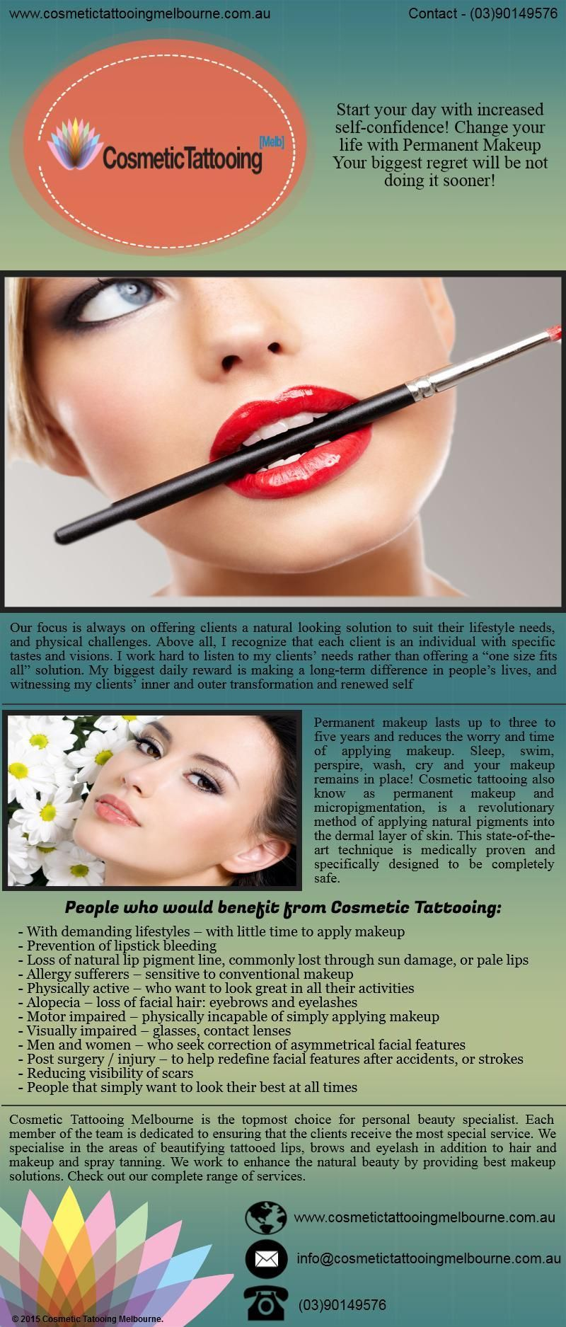Cosmetic Tattooing Melbourne Has Been Providing Immaculate