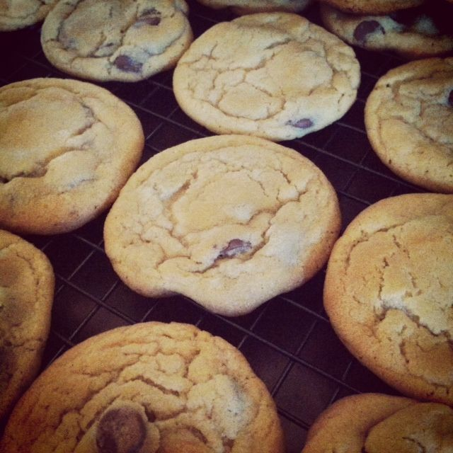 What's Cookin'?: Best EVER Chocolate Chip Cookies!