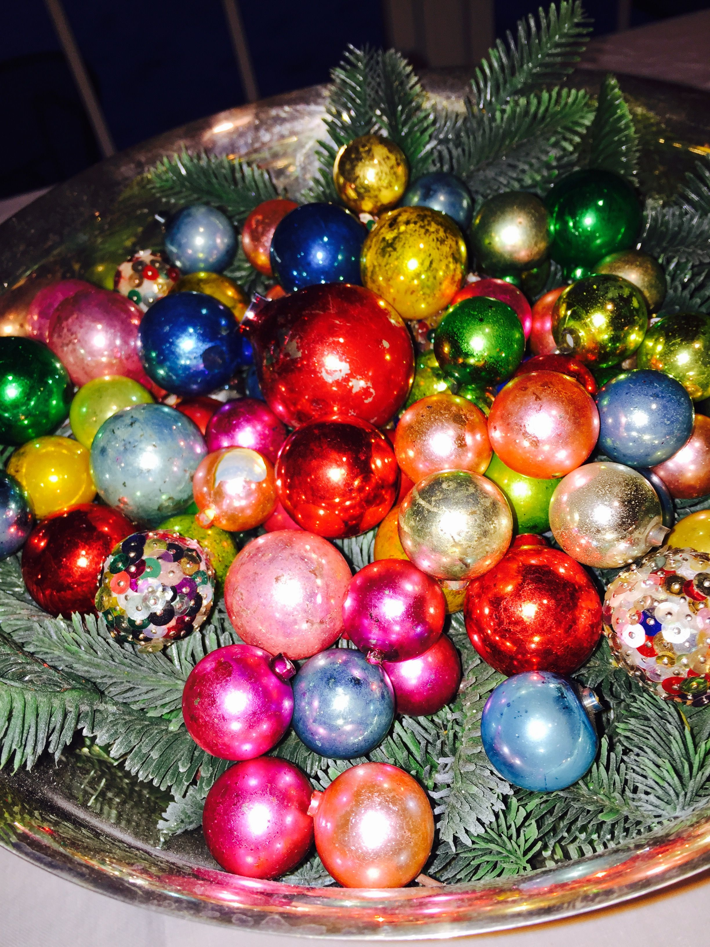 Multi colored Christmas balls | Christmas balls, Ornament ...