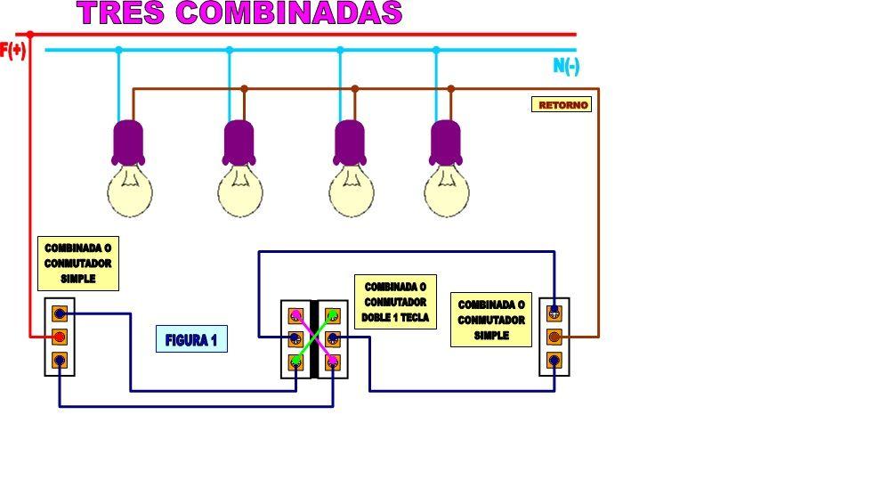 Solucionado Combinar Mas De 2 Interruptores Combinados Para Una Bombilla Electricidad Domiciliar Imagenes De Electricidad Conexiones Electricas Bombillas