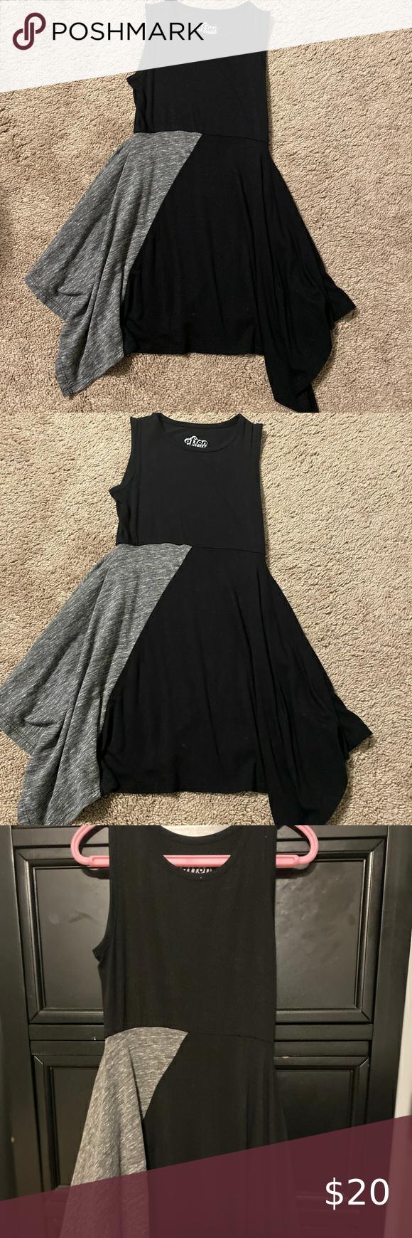 Htr Grey Black Hi Lo Skirt Girls 3t Dress Girl Skirt 3t Dress Dresses [ 1740 x 580 Pixel ]