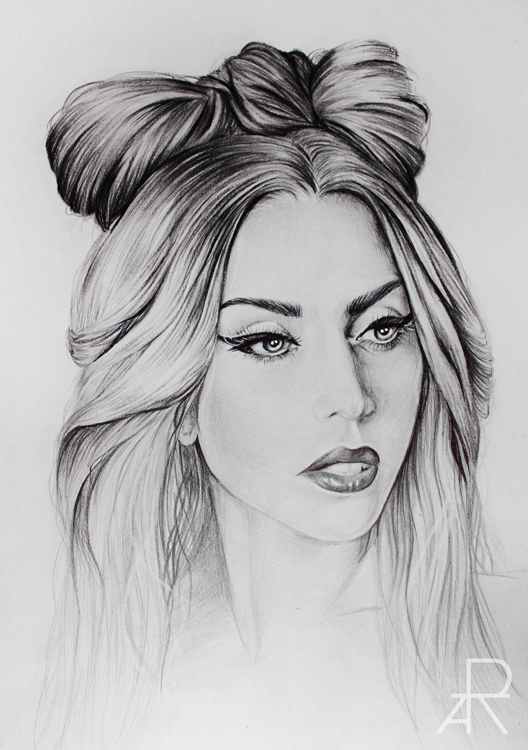 Pencil Drawing Of Lady Gaga More At Www Facebook Com Modesta Moreart Www Instagram Com Modeztart Portrait Drawing Portrait Celebrity Drawings