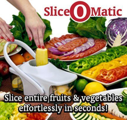 Slice O Matic Kitchen Slicer As Seen On Tv By Telebrands