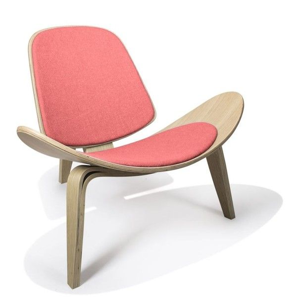Pleasant Rove Concepts Shell Chair Walnut Coral Reproduction 1 360 Short Links Chair Design For Home Short Linksinfo