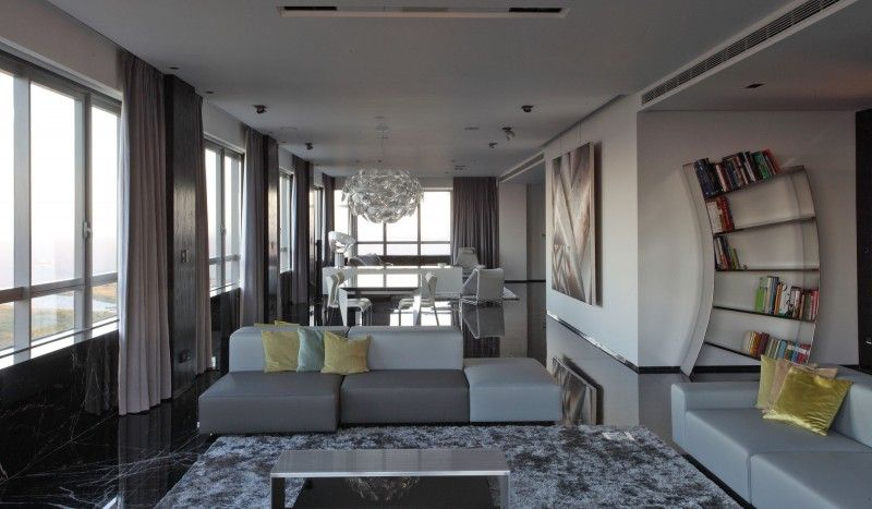 Diseño de Interiores & Arquitectura: Departamento en Torres del Faro ...