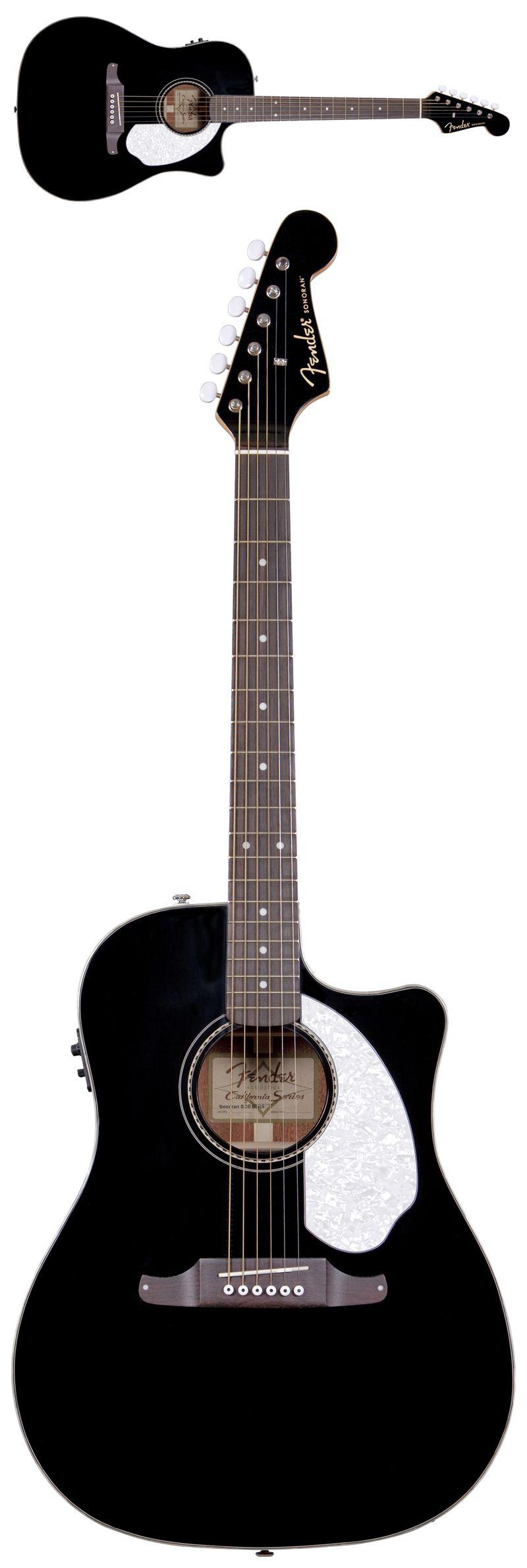 fender sonoran sce acoustic electric guitar black gently weeps guitar fender acoustic. Black Bedroom Furniture Sets. Home Design Ideas