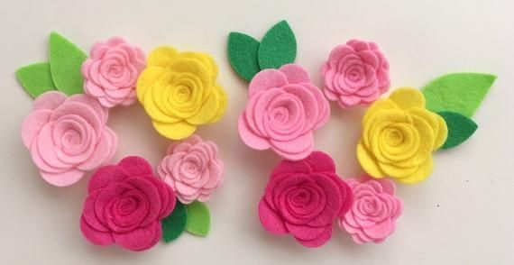 10 Hand made pink and yellow felt flowers/roses & leaves. Felt flower crown, flower headband, flower garland, baby headband, nursery decor #feltflowerheadbands 10 Hand made pink and yellow felt flowers/roses & leaves. Felt flower crown, flower headband, flower #feltflowerheadbands 10 Hand made pink and yellow felt flowers/roses & leaves. Felt flower crown, flower headband, flower garland, baby headband, nursery decor #feltflowerheadbands 10 Hand made pink and yellow felt flowers/roses & leaves. #feltflowerheadbands