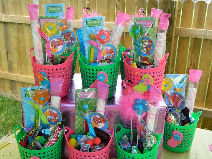 pool party favors ideas Party Idea Pinterest Pool party favors