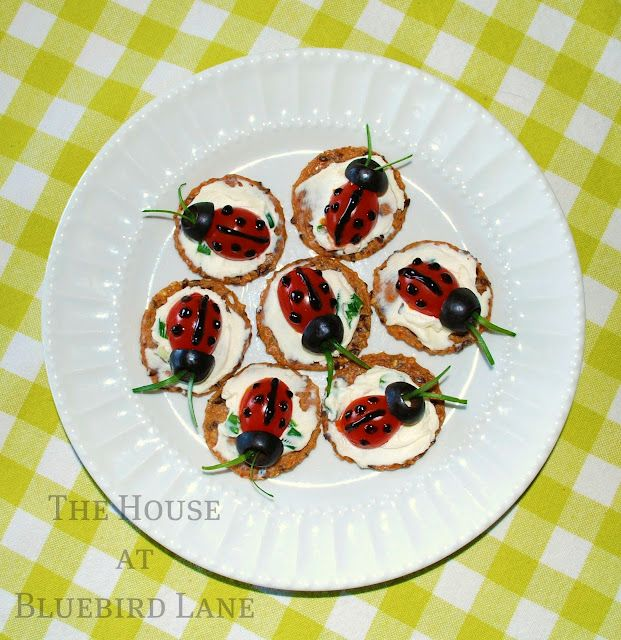 Ladybug apps - very cute for a summer party