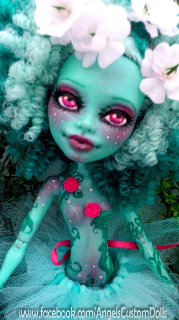Gaea - Honey Swamp Monster High Repaint on Etsy, $139.86