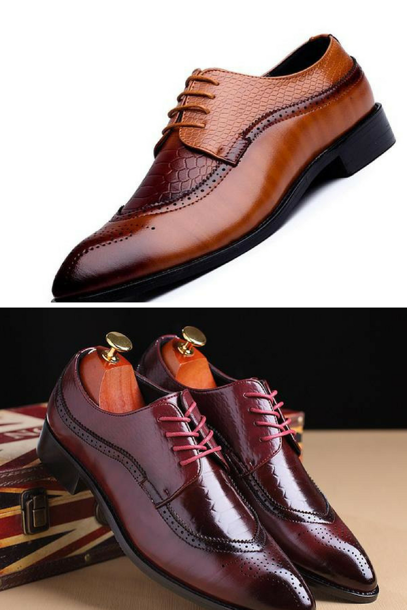 British Style Oxford Shoes in 2020 | Oxford shoes, Stylish