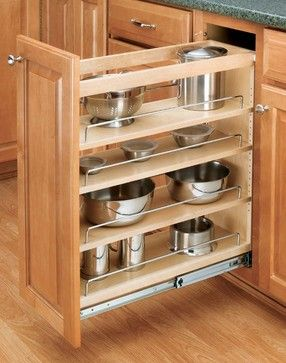 Wood Classics 8 Pull Out Base Organizer Kitchen Products