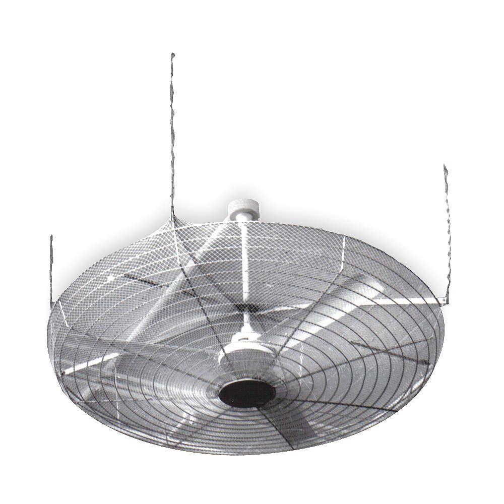 Dayton 61 Steel Ceiling Fan Guard 6 Gauge Finish Nickel Chrome Guards 2jfx8 Grainger Industrial Supply