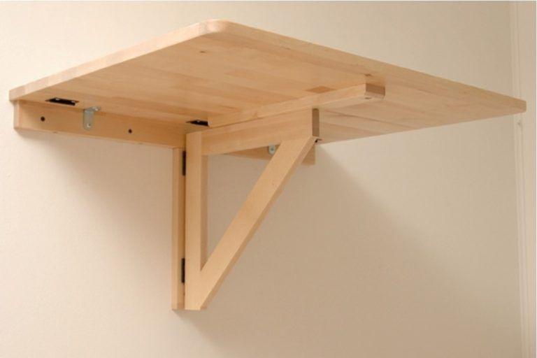 Wall Mounted Drop Down Desk Diy Fold Table