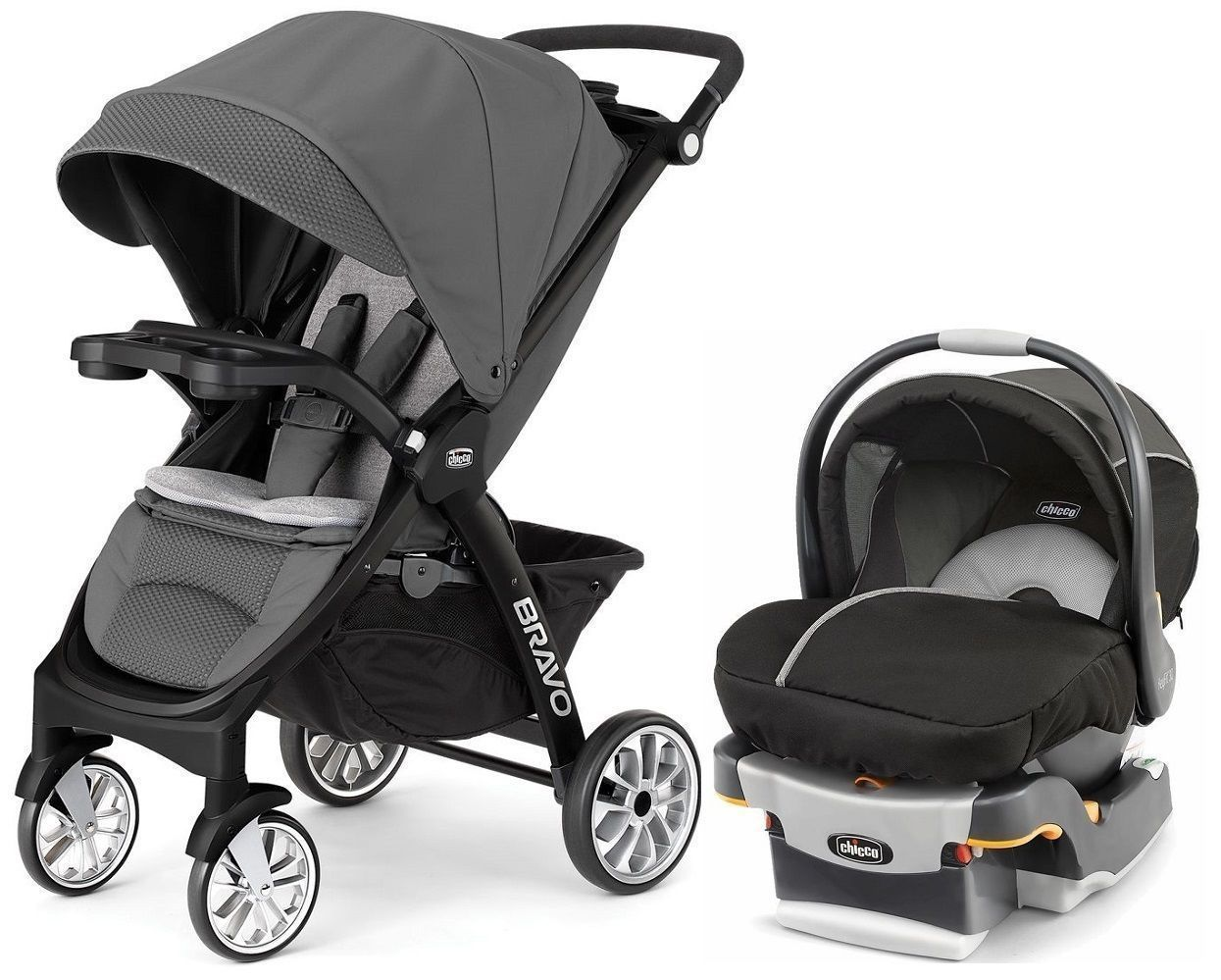 Chicco Bravo LE Trio 3in1 Baby Travel System Stroller