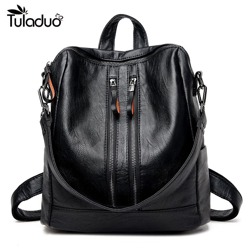 735a87353c47 Cheap genuine leather backpack women