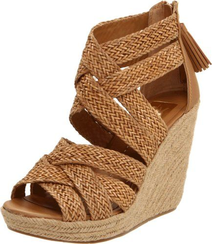 Dv Dolce Vita Tulle Espadrille Wedge Sandals: DV By Dolce Vita Women's Tulle Wedge Sandal