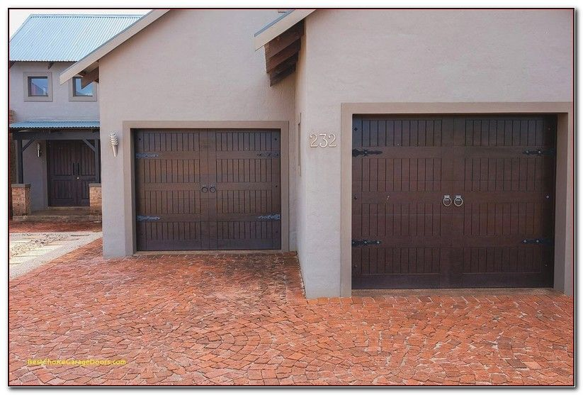 Wooden Garage Doors Prices Johannesburg New Double Garage