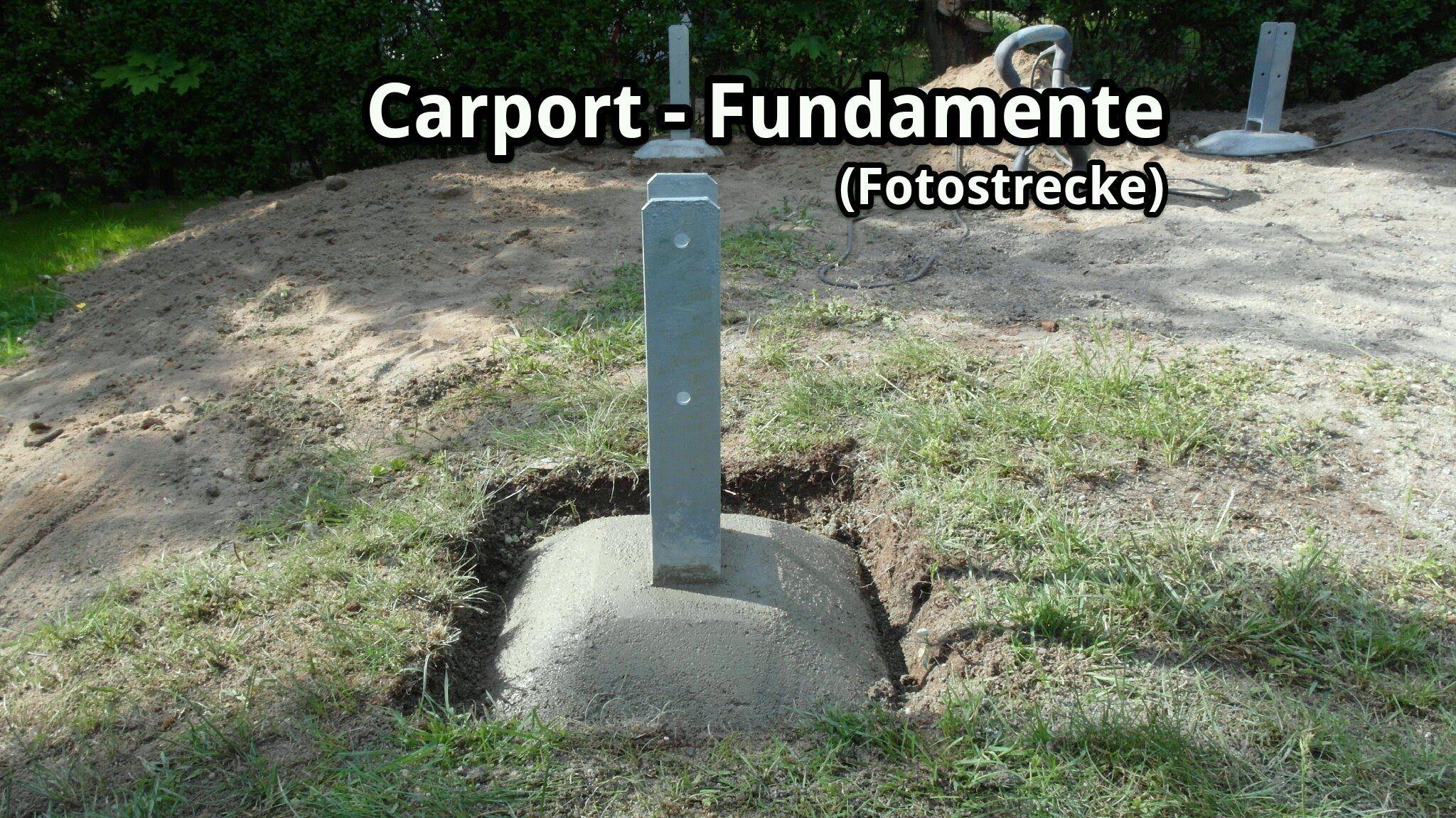 Carport Bau Fundamente Und H Anker Fotostrecke Carport Carports Bau