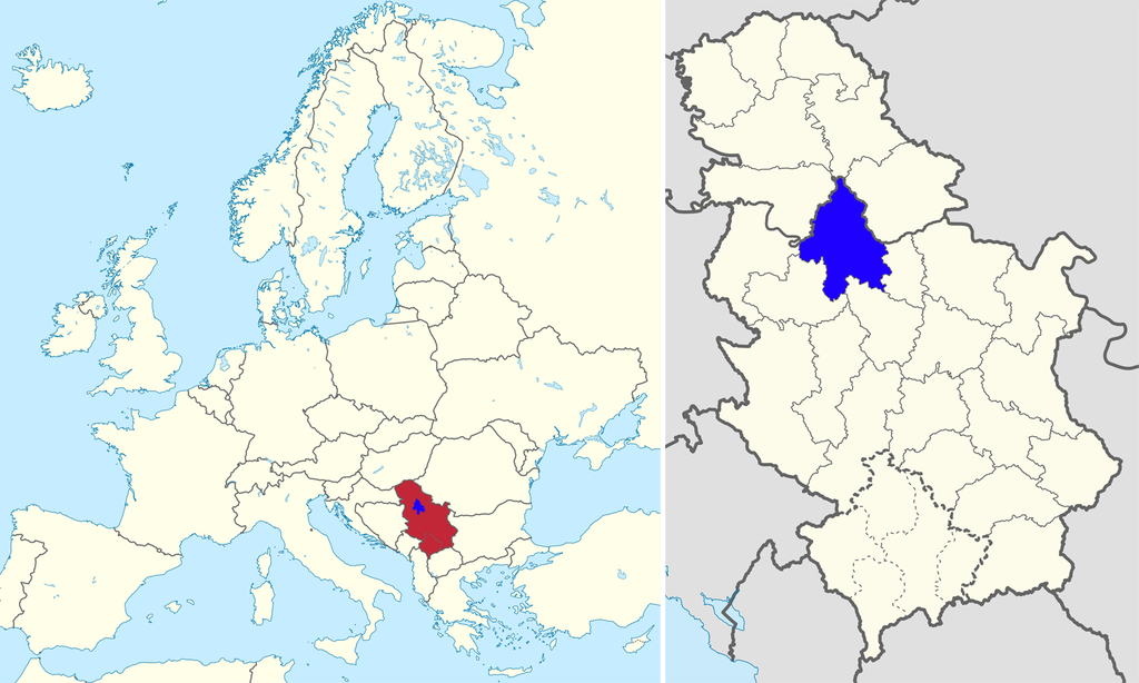 belgrade on map of europe Belgrade | Belgrade, Serbia, History