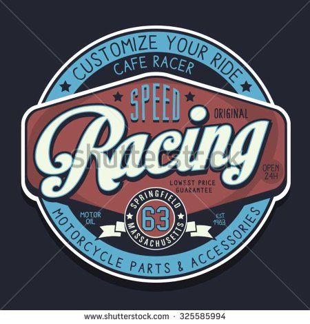 Racing T Shirt Design Ideas 17 best images about t shirt art on pinterestt shirts t shirt racing t shirt Motorcycle Racing Sport Typography T Shirt Graphics Vectors
