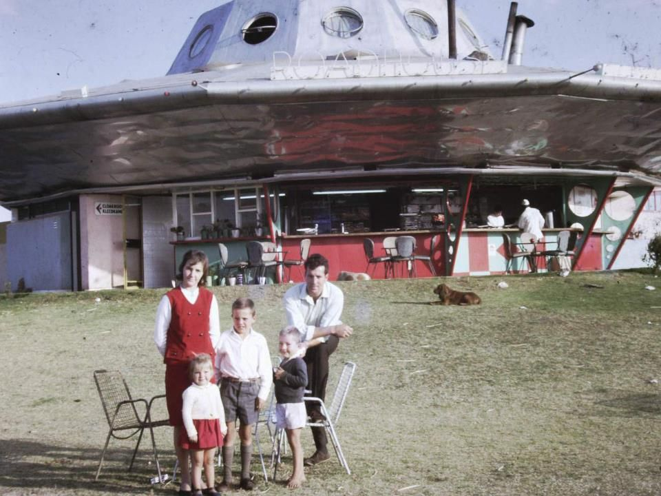 The Flying Saucer roadhouse in Pretoria was a great place to visit as a kid  in the 60's!