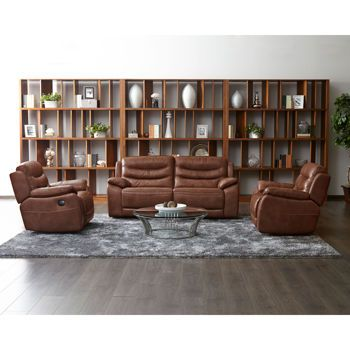 Costco Wholesale Top Grain Leather Sofa Power Reclining Sofa Power Recliners