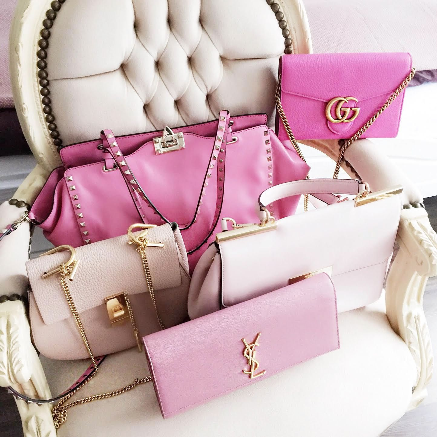 e22cb1a4fd Pink bags will probably make any girl's heart beat faster. I have also  collected a