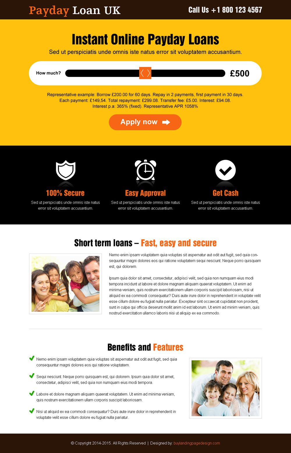 Best Uk Payday Loan Responsive Lp 13 Payday Loan Responsive Landing Page Design Preview Payday Loans Payday Loans Online Payday