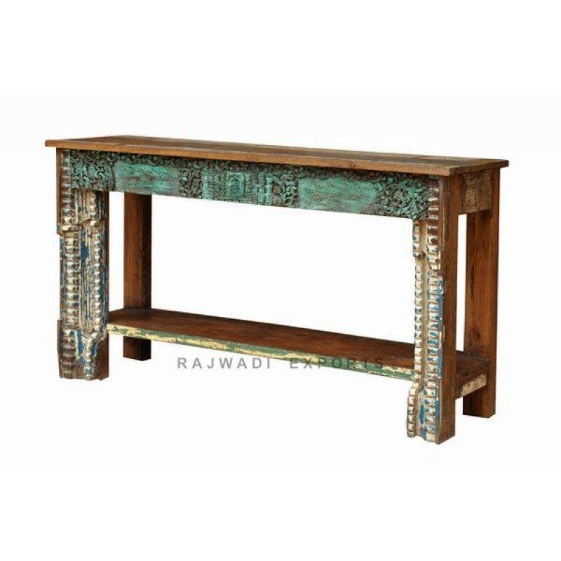 Amezing Designed Rajwadi Furniture Console Table Rajwadi Exports