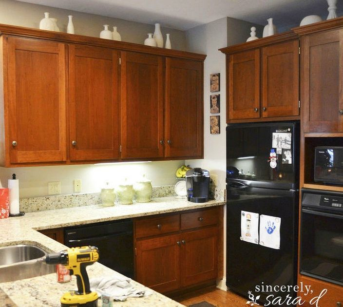 how to paint compressed wood cabinets