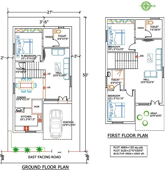 Duplex House Plans In India For 900 Sq Ft Home Pinterest