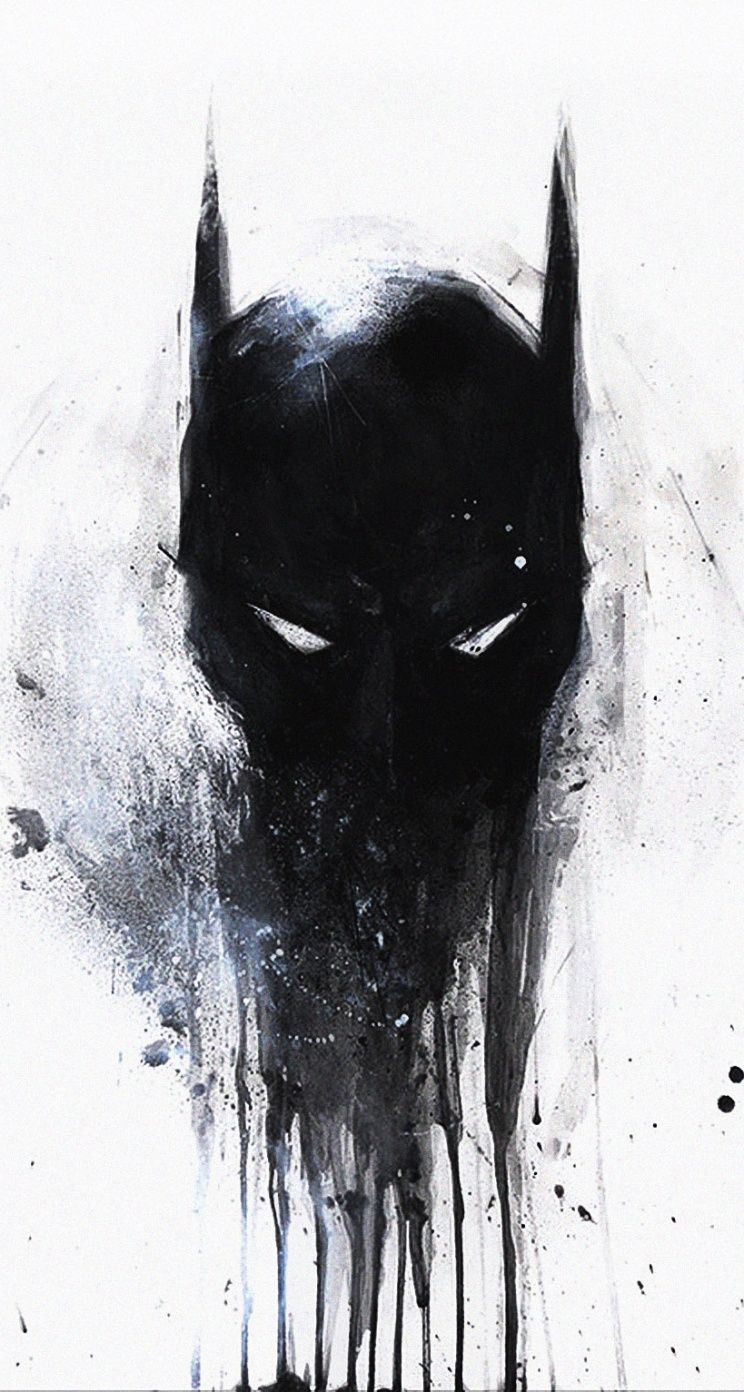 iPhone 5, 5S, 5C Parallax wallpaper Dark Knight Batman