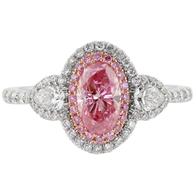Certified Argyle Pink Diamond Ring For Sale Pink Diamond Pink