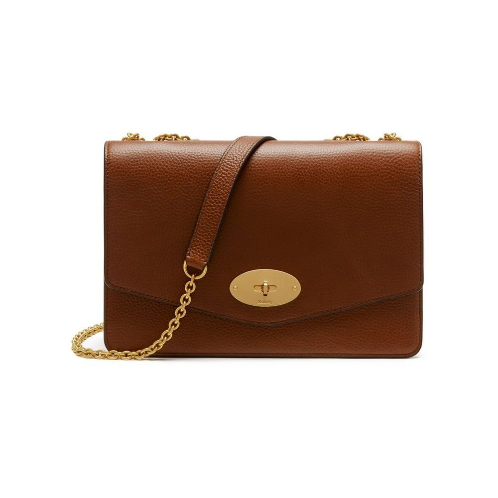 85a1ce84db Purses · Shop the Large Darley in Oak Natural Leather at Mulberry.com. The  Darley is