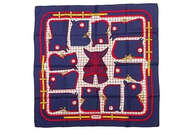 Hermès Camails Silk Scarf on OneKingsLane.com