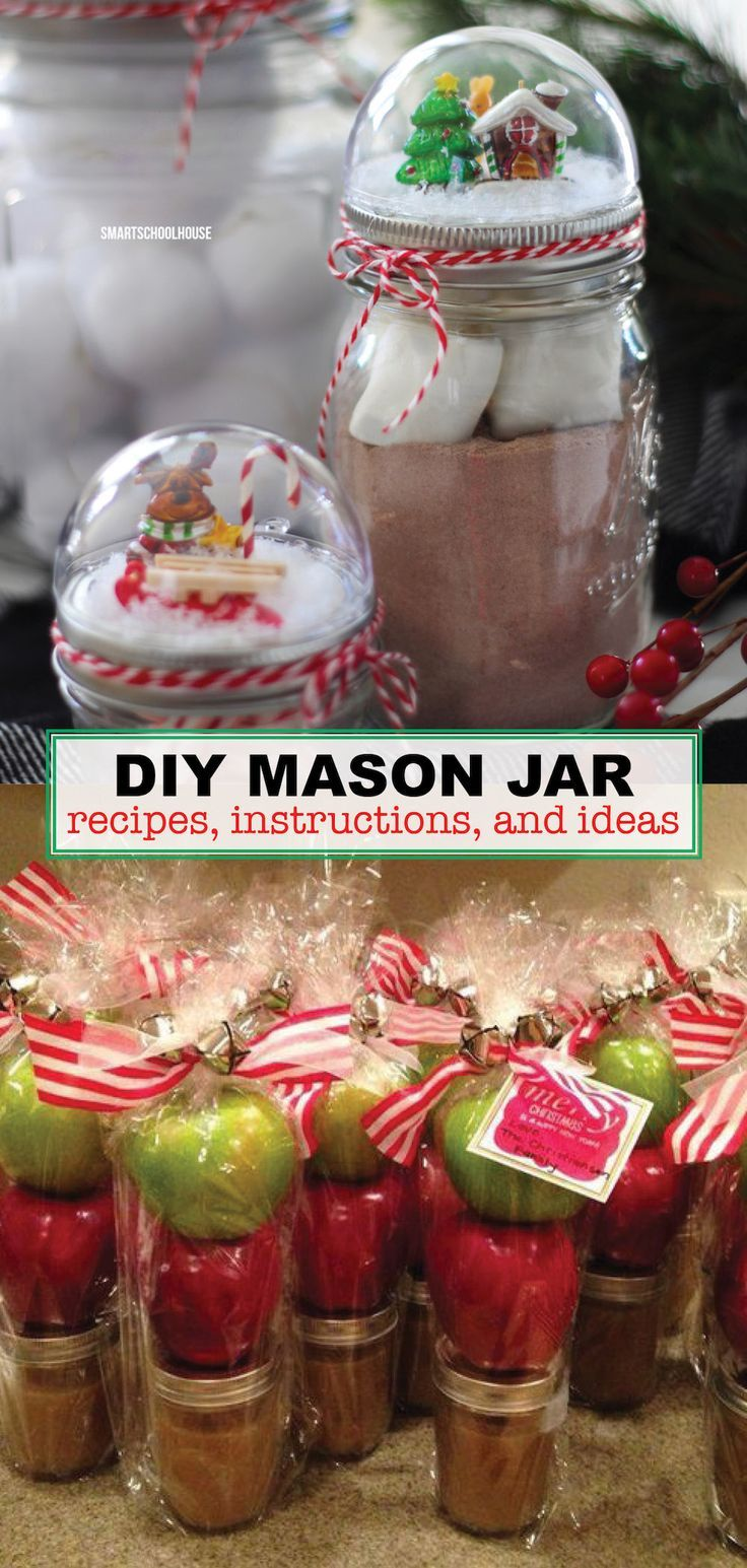 13 Easy Mason Jar Ideas