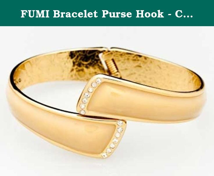 Fumi Bracelet Purse Hook Colors Gold Your Friends Will Be So Amazed When You Take Off And Use It As A