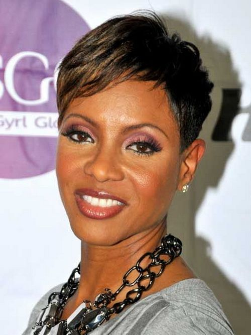 Magnificent 1000 Images About Hair Do On Pinterest Short African American Short Hairstyles For Black Women Fulllsitofus