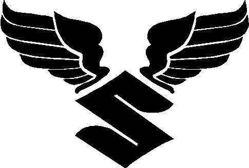 HONDA WINGS logo Vinyl sticker//decals Set of 2, Left and Right Facing