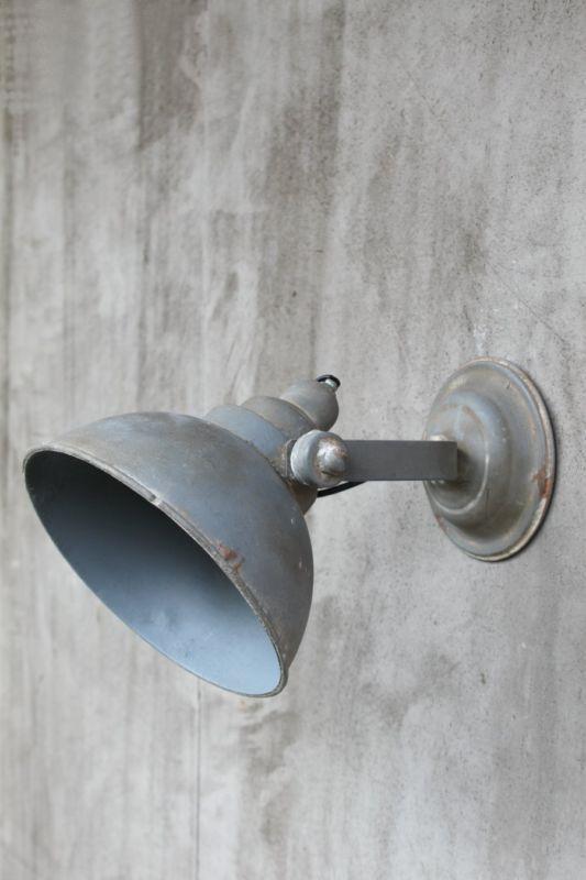 Wandlampe Wand Industrielampe shabby Strahler Metall modern Retro Wandleuchte  Badezimmer