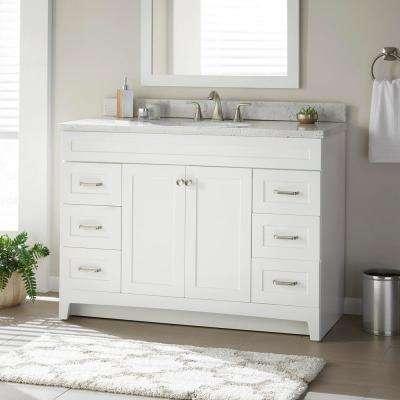 48 Inch Vanities Single Sink Bathroom Vanities Without Tops