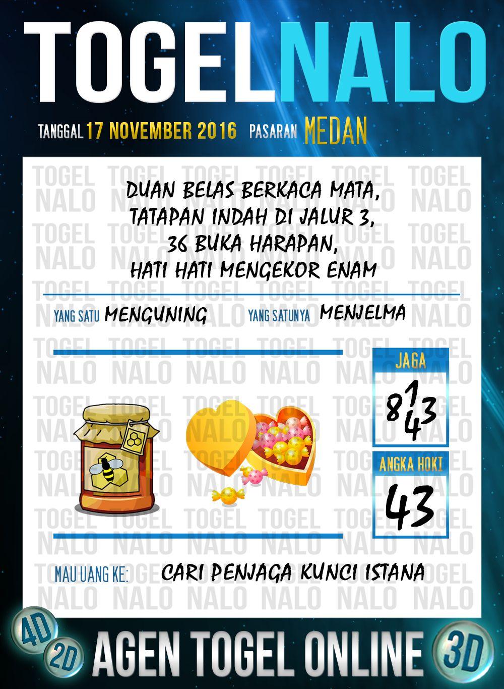 Angka Jp 2d Togel Wap Online Live Draw 4d Togelnalo Medan 17 November 2016 17 November November Desember