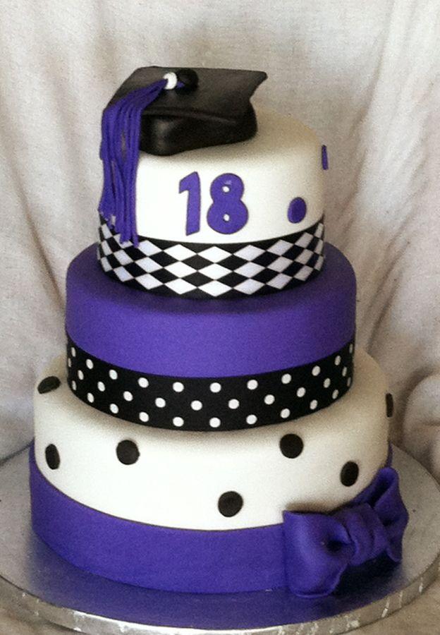 Birthday Cakegraduation 18th Birthdaygraduation Graduation