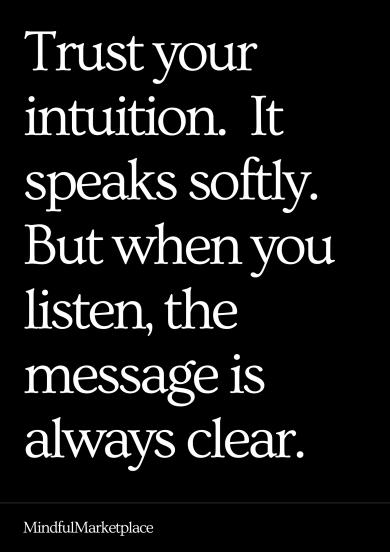 Trust Your Intuition (an Empaths Best Friend)