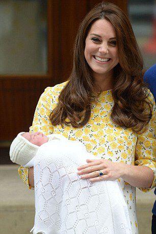 Birth of HRH Princess Charlotte of Cambridge