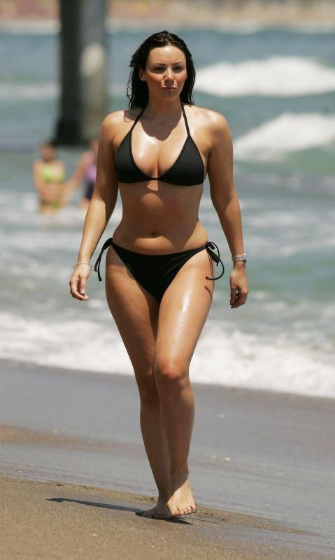 busty ebony bikini