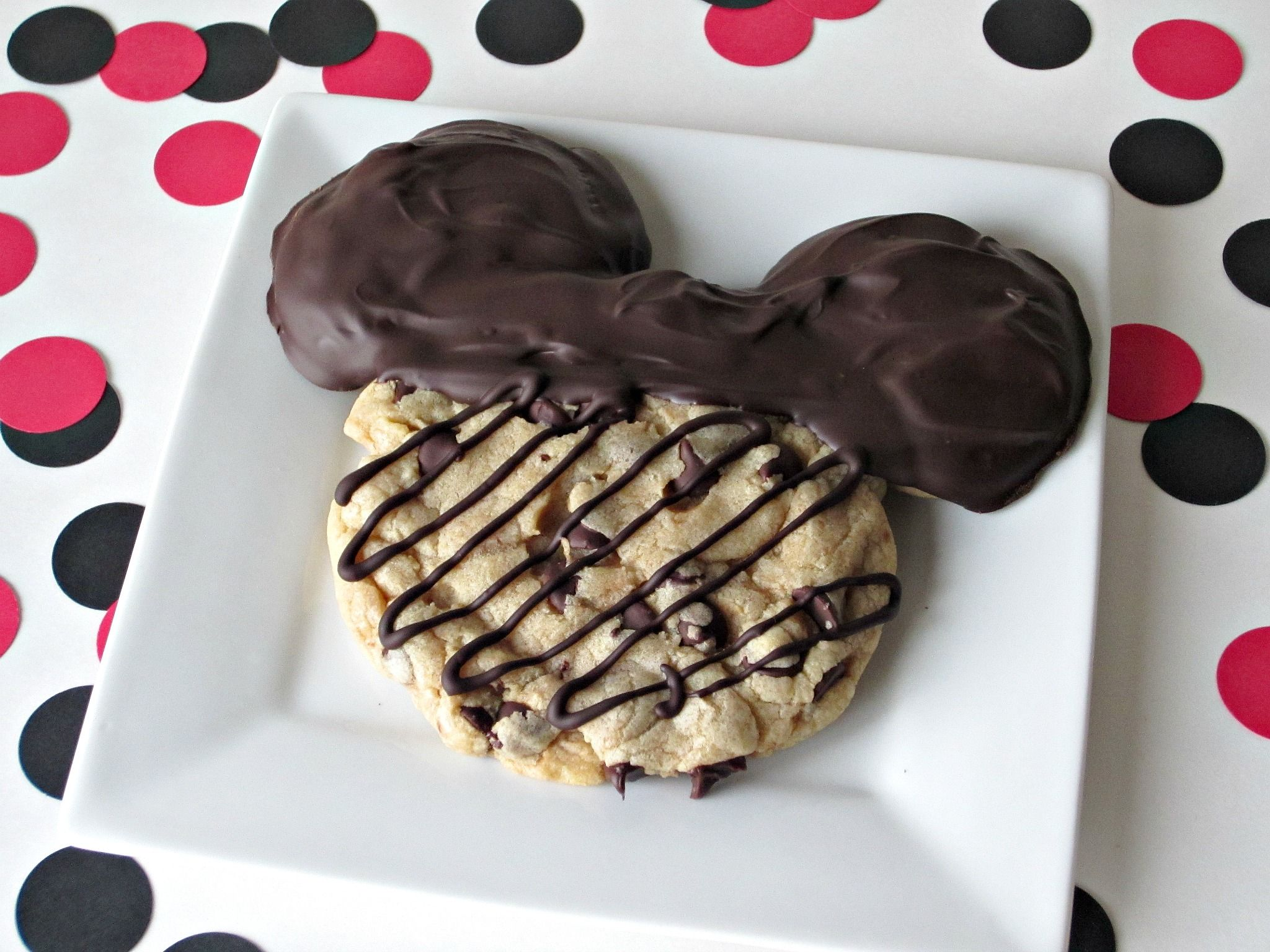 Mickey Mouse Chocolate Chip Cookies Recipe Chocolate Chip