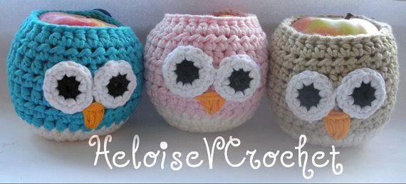 3 Crochet Cozy Patterns  Vaseline Lipbalm by HeloiseVCrochet, $9.50